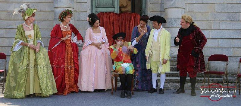 La Troupe du Crâne en représentation à la Laiterie de la Reine - Rambouillet