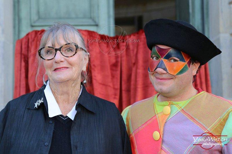 Monique Font-Didion et son Arlequin