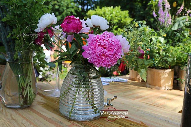 Fleurs au jardin de monsieur paul