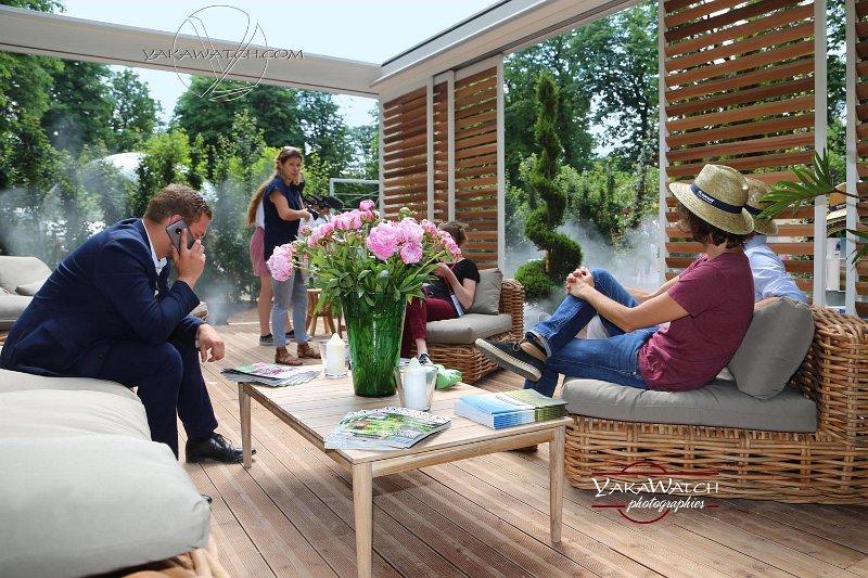 La pergola bioclimatique - Jardins, Jardin
