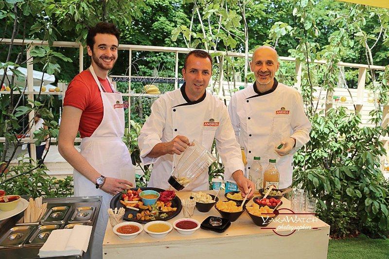 Le jardin fruitier - L'équipe Andros