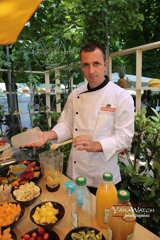 Le jardin fruitier - En préparation de smoothie