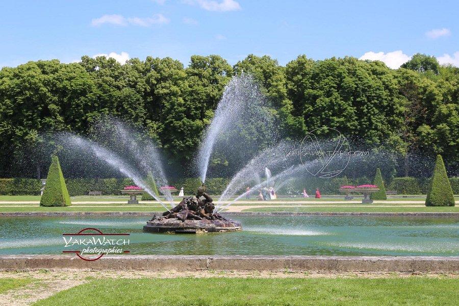 Vaux le Vicomte - Fontaine et bassin