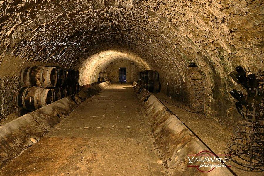 Vaux le Vicomte - La cave à vins