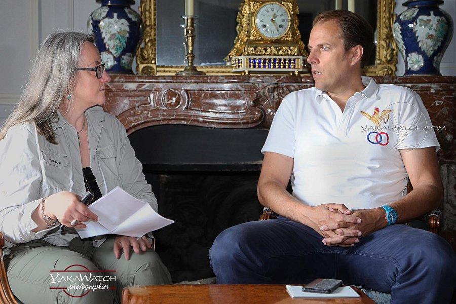 Pascale Varenne interviews Jean Charles de Vogüe, lord of Vaux le Vicomte