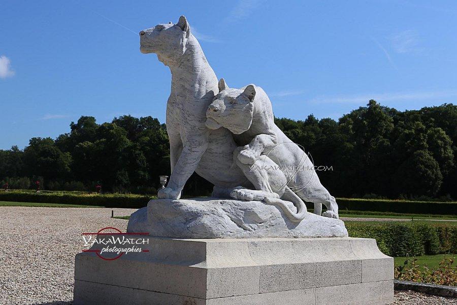 Vaux le Vicomte - Statues animalières