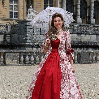 Journée Grand Siècle à Vaux le Vicomte, avec Isabelle