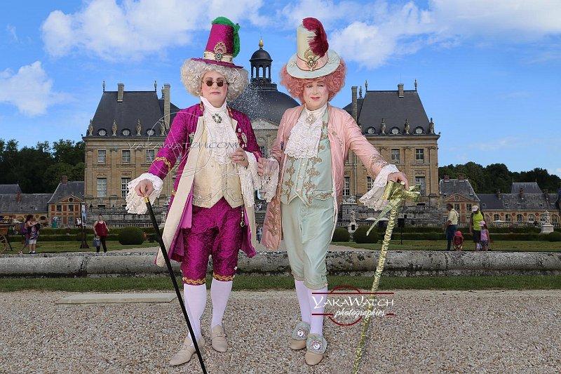 Journée Grand Siècle et concours d'élégance. Les lauréats dans la catégorie 'Costumes baroques fantaisie'