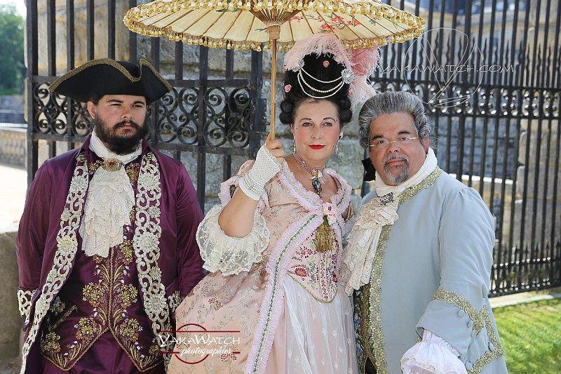 Journée Grand Siècle à Vaux-le-Vicomte - Costumes