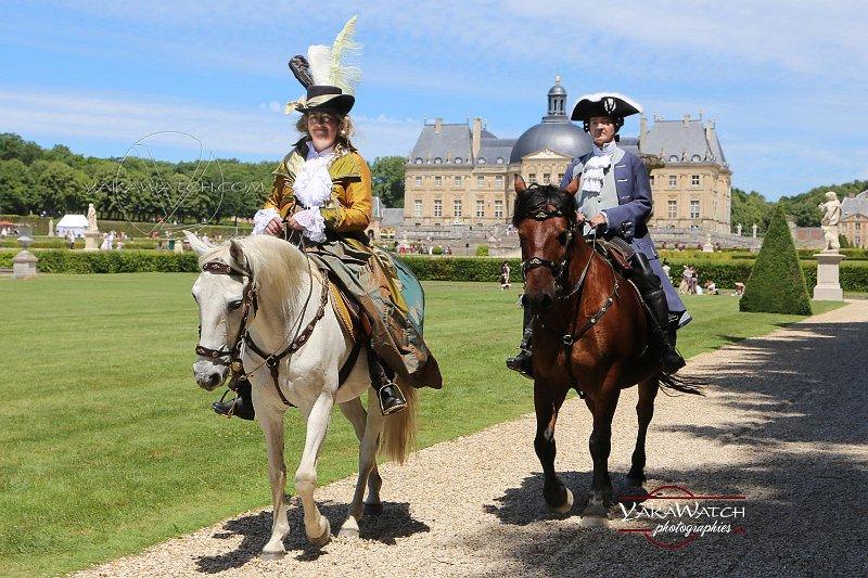 Journée Grand Siècle 2017 à Vaux le Vicomte - Yakawatch photographies - Participants à cheval