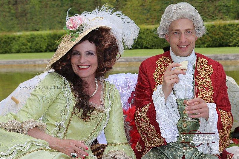 La mode baroque inspire les créateurs de costumes à cause de la richesse des modèles