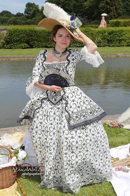 Journée Grand Siècle à Vaux-le-Vicomte - Costume