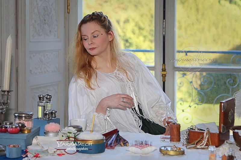La comtesse de Toulouse à sa toilette