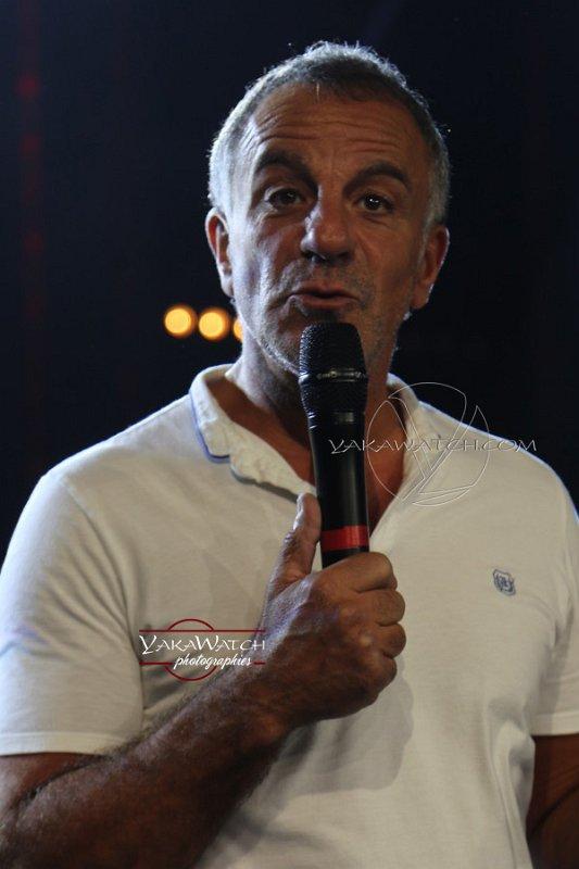 Albert Cohen, le producteur du show Le Rouge et le Noir
