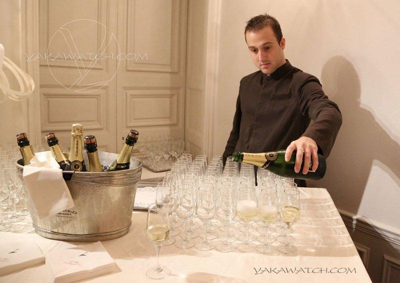 Restaurant, brasserie, traiteur, bar - Buffet champagne - Maison des Polytechniciens