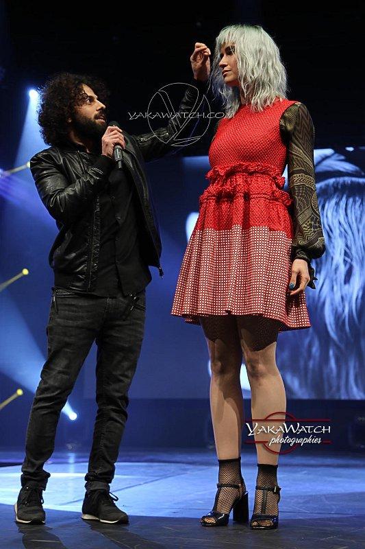 Shai Elgrichi et son modèle