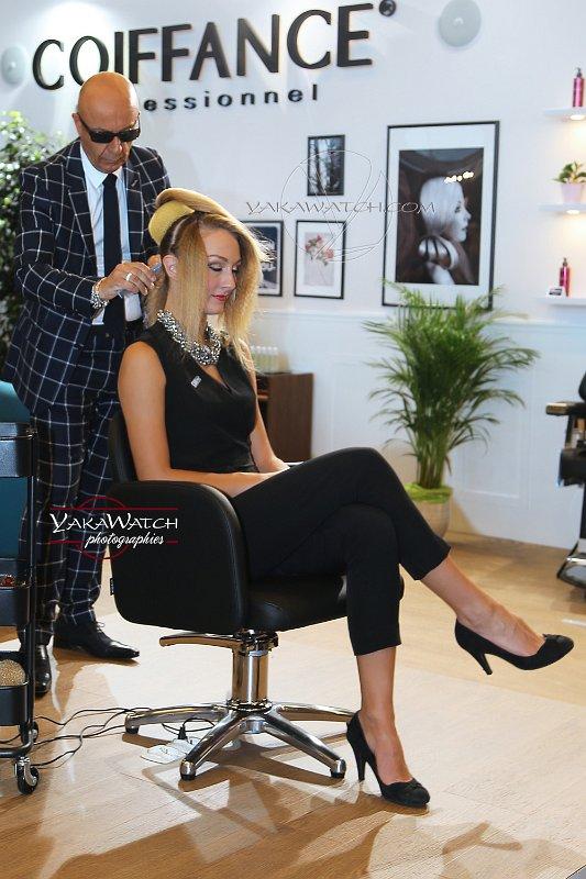 Démonstration coiffure au MCB Paris 2016