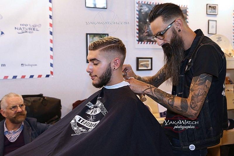 Lames et tradition, barbiers