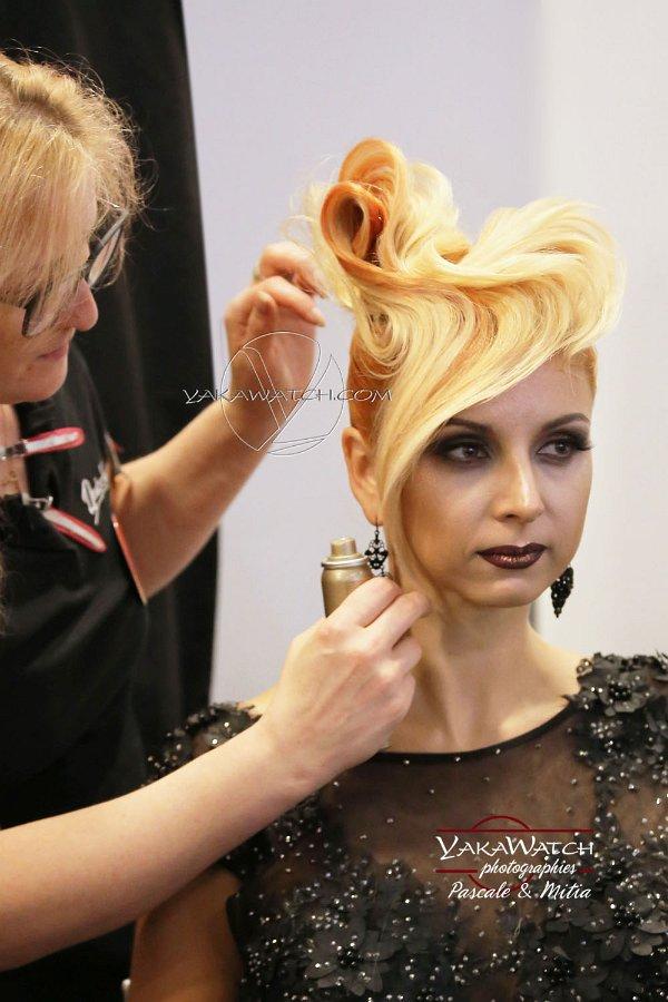 Hairworld competition - Coiffure et beauté - Backstage
