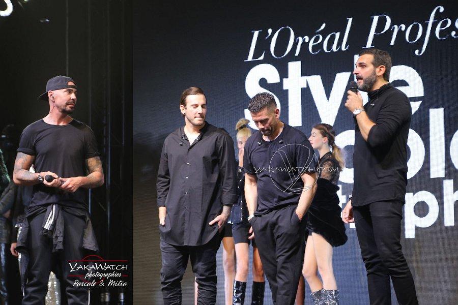 Show L'Oréal au MCB Paris 2018 - Les coiffeurs ambassadeurs