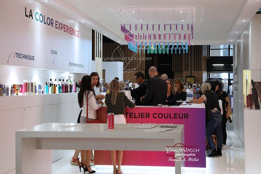 Atelier couleur au mondial de la coiffure 2018
