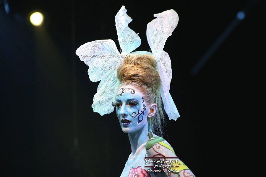 Show Morgane Hilgers au MCB Paris 2018 - Bodypainting