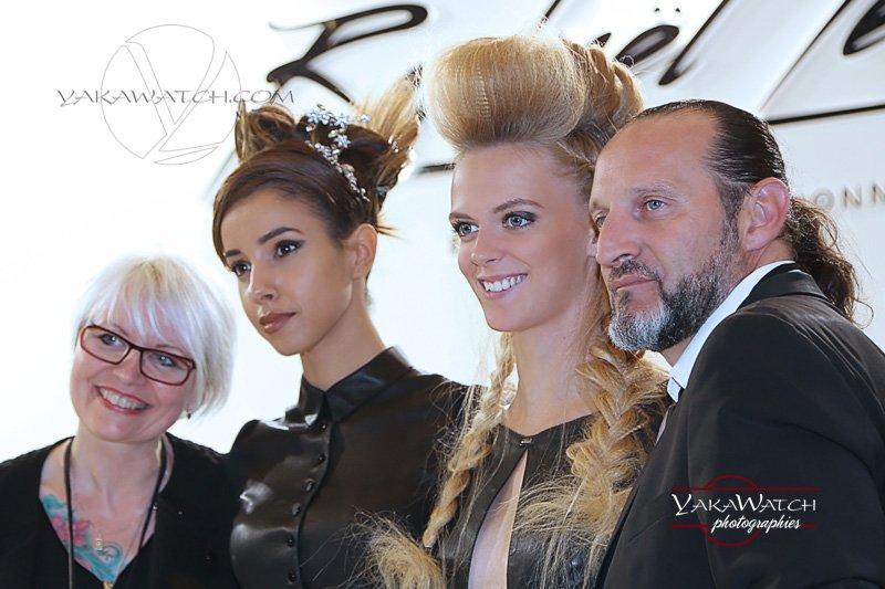 Mondial coiffure et Beauté 2015 - Sur le stand Raphaël Perrier