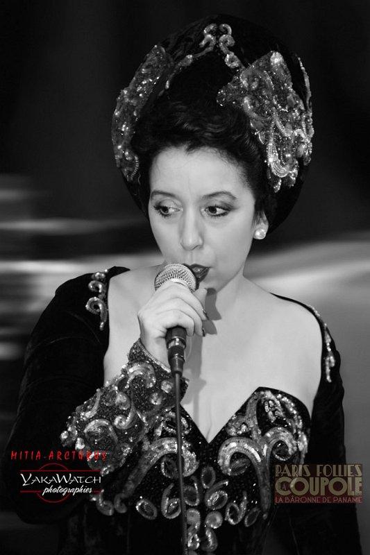 Mélina Sadi, la Bâronne de Paname