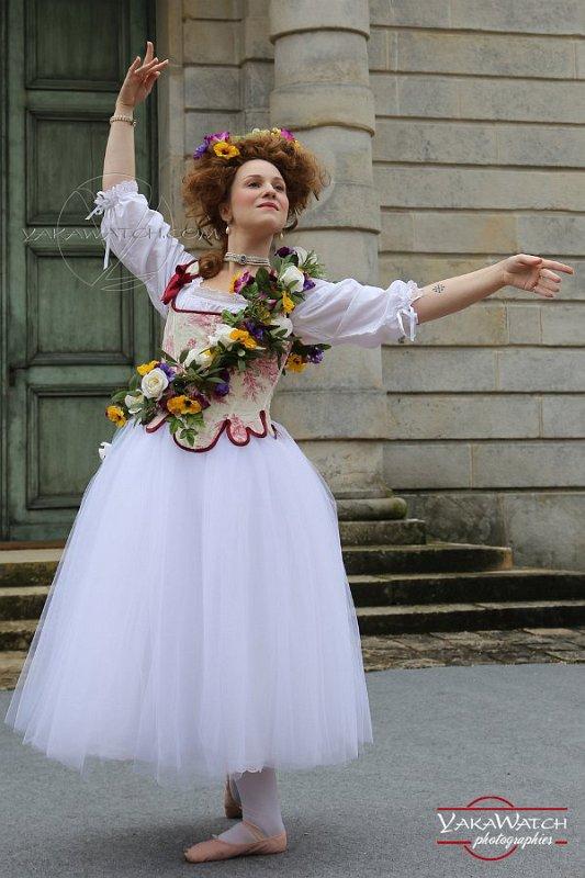 Costume de Madeleine Guimard, danseuse à la cour