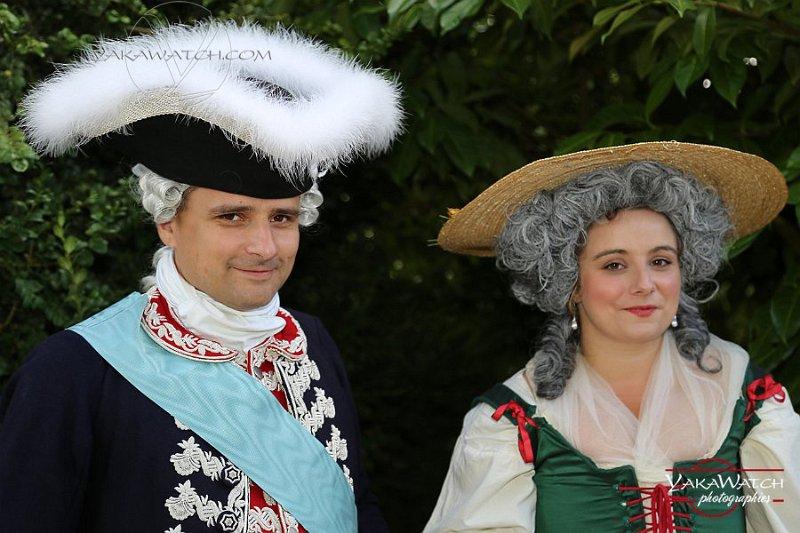 Pauline Bord et Hervé Serrurier, de l'Histoire Retrouvée