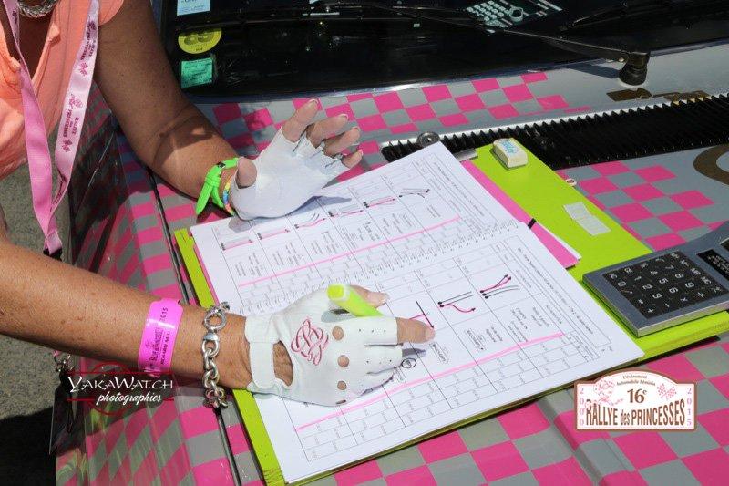 Road-Book de la première épreuve du Rallye des Princesses