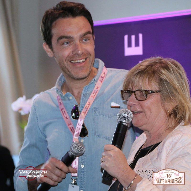 Viviane Zaniroli Gregory Galiffi - Rallye des Princesses Richard Mille