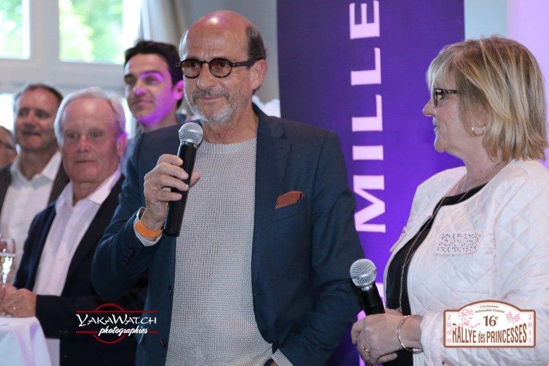 Viviane Zaniroli et Richard Mille