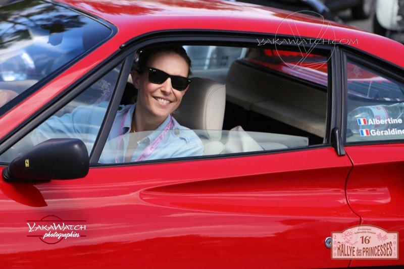 73 - Géraldine Pascal et Albertine Marchadier - Ferrari 308 GTB de 198