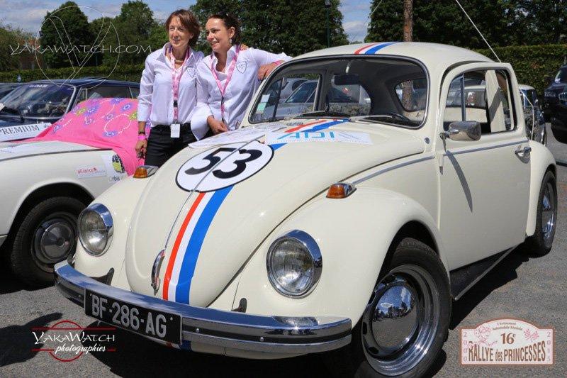 Équipage 47 - Hélène Jammayrac et Astrid Justeau‐Buee - VW Cox de 1967