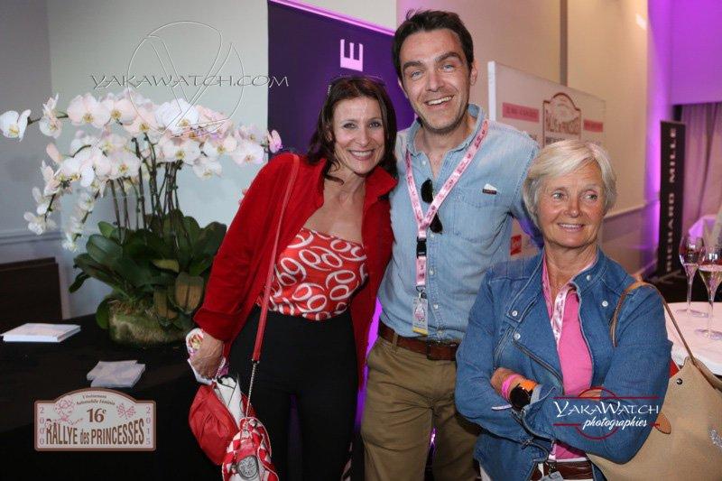 Gregory Galiffi, Biche Espinos, Valerie Lesport - Rallye des Princesses Richard Mille