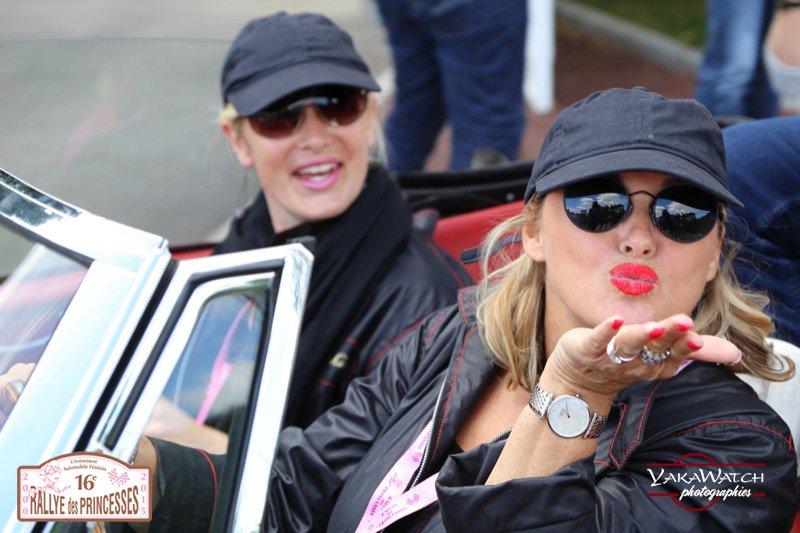 La bonne humeur du Rallye des Princesses