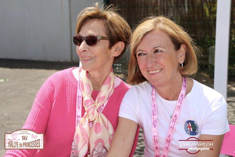 Nicole Laurent et Muriel Paolin