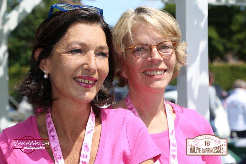 Équipage 86 - Sylvie Jarier et Pascale Herpin- Mercedes 500 SL
