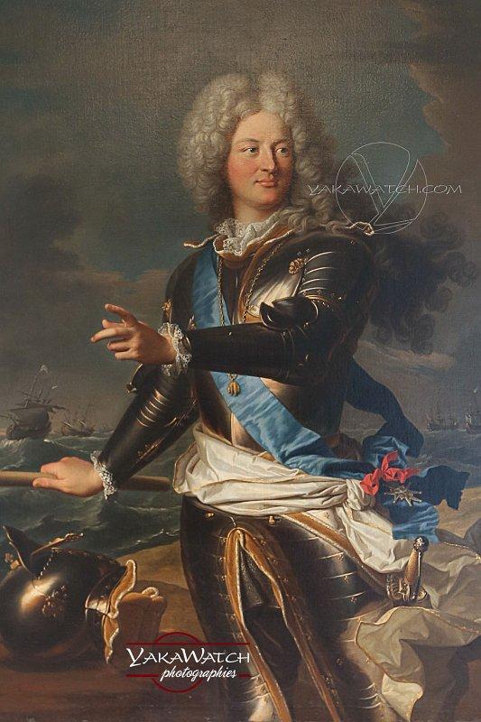 Le comte de Toulouse par Hyacinthe Rigaud