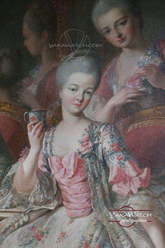 Le tableau dit de la tasse de chocolat (détail)