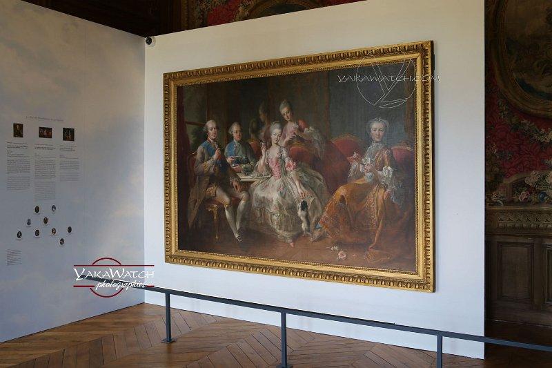 Exposition 'Les princes de Rambouillet' au château de Rambouillet