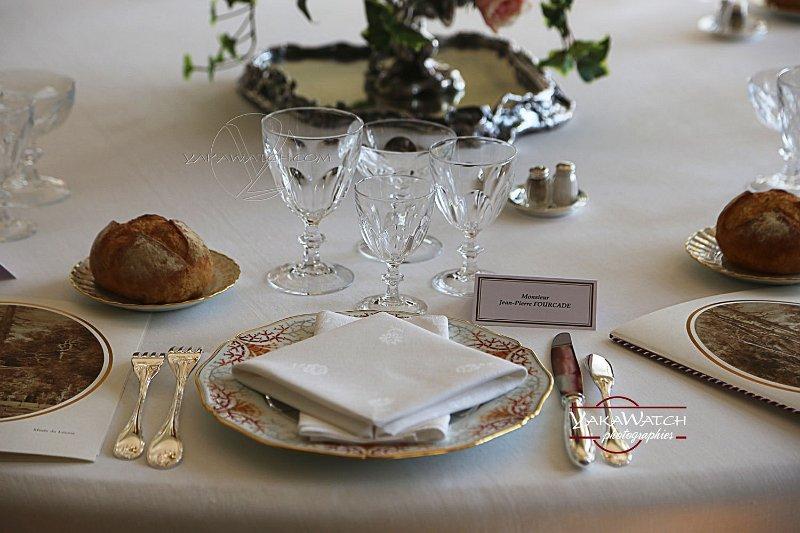 La table du dîner des G6