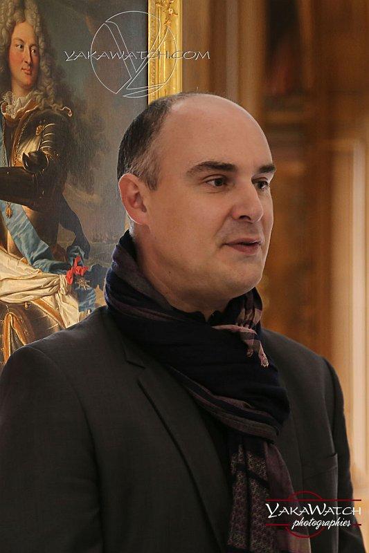 Raphaël Masson, conservateur en chef au musée national de Versailles