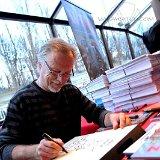 Franck Margerin dédicace son dernier livre