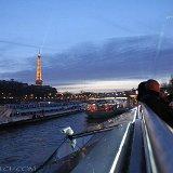 vue de la tour Eiffel depuis la Patache - Bateaux Mouche