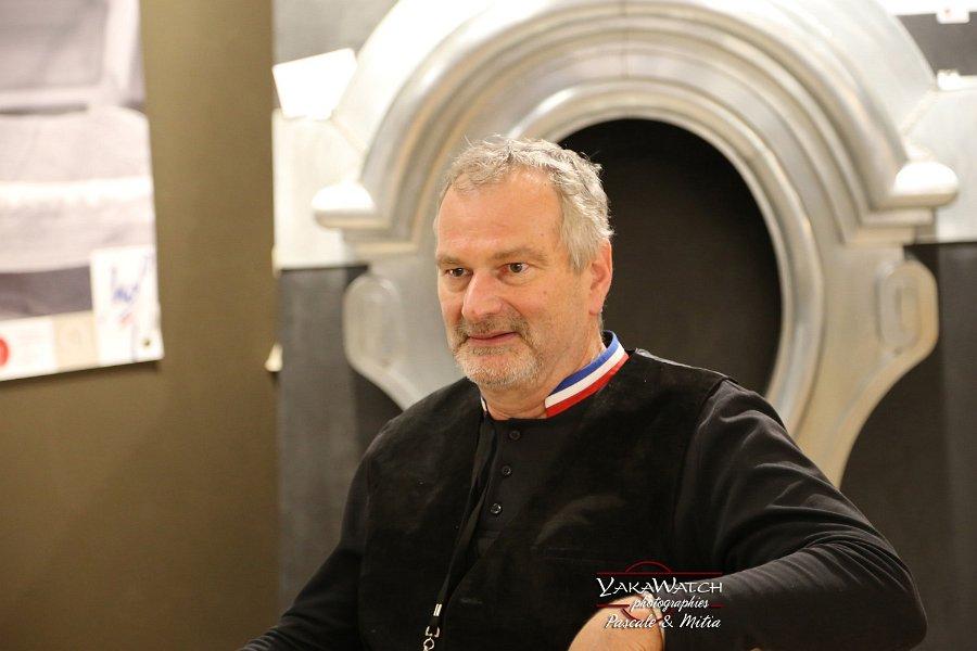 Jean Pierre Lebureau, Ornemaniste • Salon du Patrimoine Culturel Paris 2018