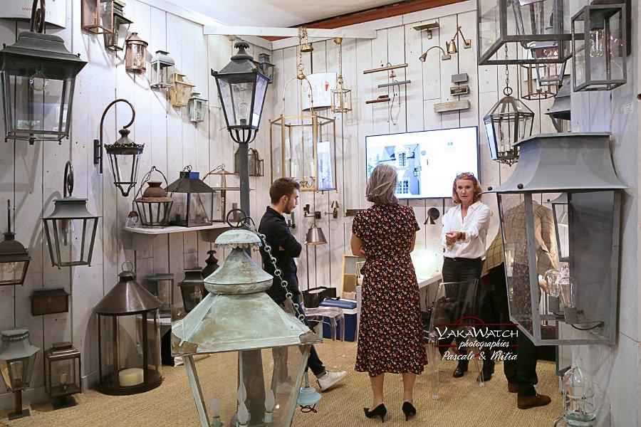 Le stand Lum'Art au Salon du Patrimoine