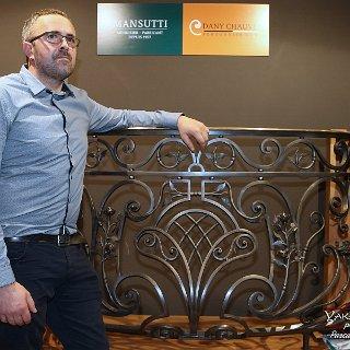 Dany Chauvel, ferronnier d'art