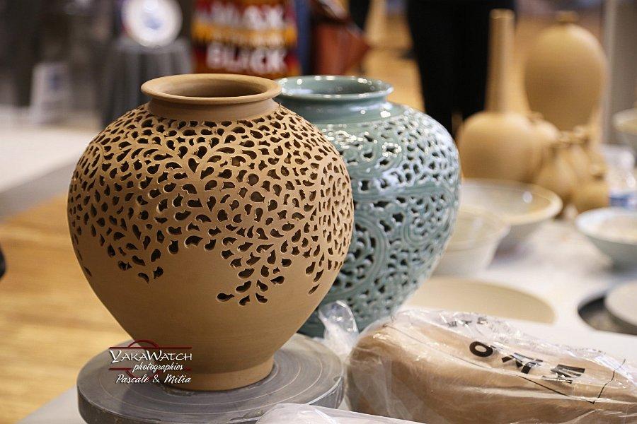 Les maîtres d'Icheon, représentants de la céramique coréenne